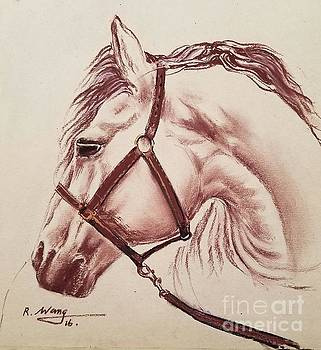 Horse by Rose Wang