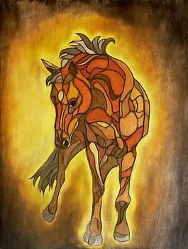 Horse by Sarojit Mazumdar