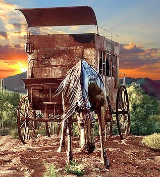 Horse Sculpture by Barry Shereshevsky