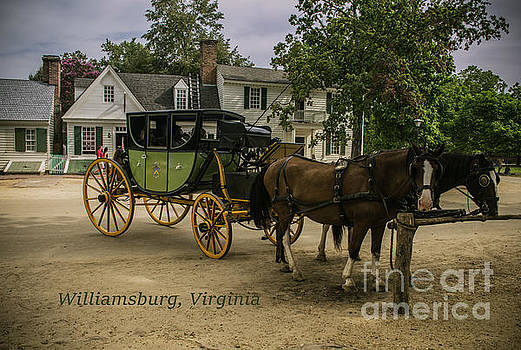Horse Trail Of The Past by Crissy Anderson
