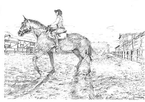 Horseride by Marta Gawronska