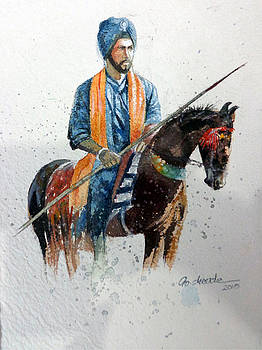Horserider by Gourav Sheode