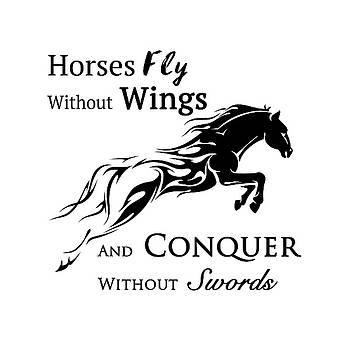 Horses Fly by Tamer and Cindy Elsharouni