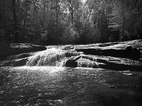 Horseshoe Falls at Musgrove Mill Historic Site by Kelly Hazel