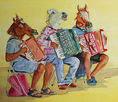 Jenny Armitage - Horsing Around With Accordions