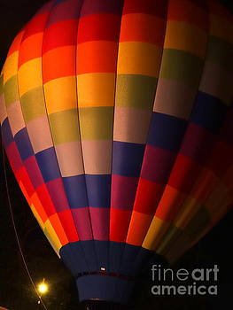 Hot Air Balloon Color Spectrum  by Justin Moore