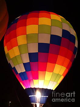 Hot Air Balloons Colors by Justin Moore