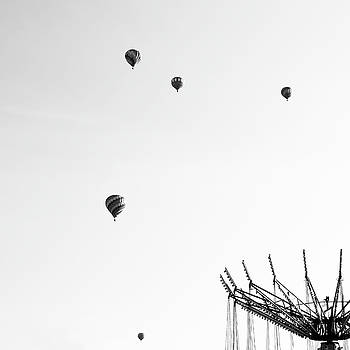 Hot Air Balloons, Jamesville, New York by Brooke T Ryan