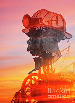 Hot and Steamy Man Engine by Terri Waters