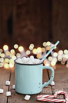 Hot Cocoa with Mini Marshmallows by Stephanie Frey