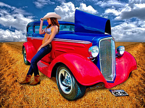 Hot Rod Hot One by Chas Sinklier