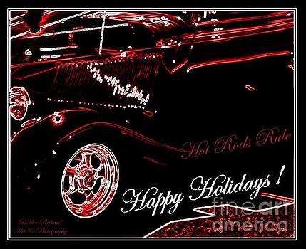 Hot Rods Happy Holidays by Bobbee Rickard
