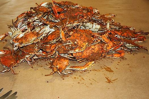 Paulette Thomas - Hot Steamed Blue Crabs