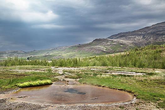 hot water spring Iceland by Dirk Ercken