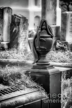 Hotchkiss Tomb Urn - New Orleans by Kathleen K Parker