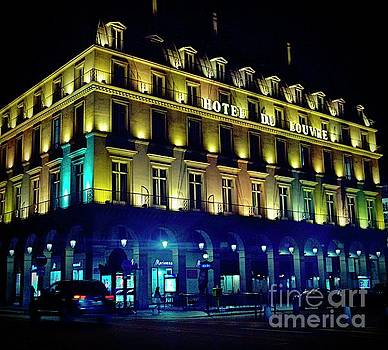 Hotel Du Louvre by Lilliana Mendez