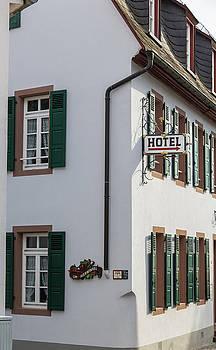 Hotel Rudesheim Germany by Teresa Mucha