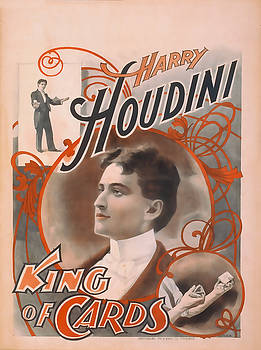 Houdini King Of Cards by David Wagner