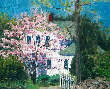 House at Conklin Orchards by Jane  Simonson