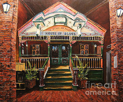 House of Blues New Orleans by Prankearts by Richard T Pranke