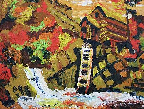 Suzanne  Marie Leclair - House on Stilts