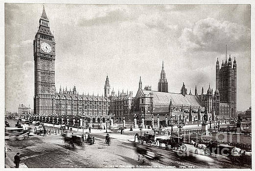 Houses of Parliament and Westminster Hall London by Carsten Reisinger
