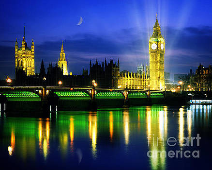 Houses of Parliament by Edmund Nagele