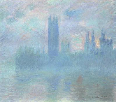 Claude Monet - Houses of Parliament  London