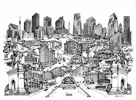 Houston by Dennis Bivens