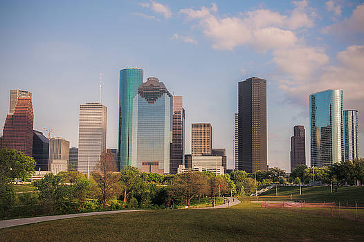 Houston Skyline by Ray Devlin