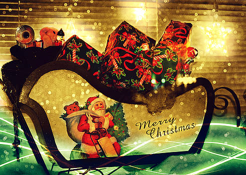 How Much For That Sleigh In The Window? III by Aurelio Zucco