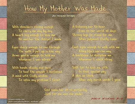 How My Mother Was Made by Kathleen Luther