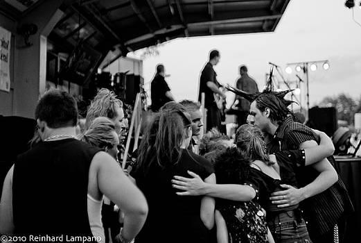Huddle Up. by Reinhard Lampano