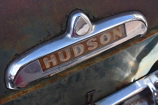 Hudson Car Emblem by Sharon Wunder Photography