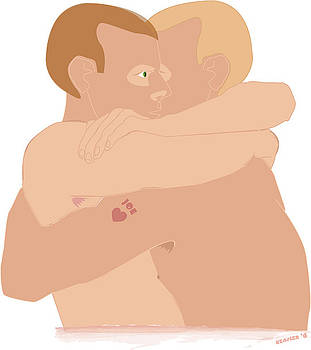 Hug by John Keasler