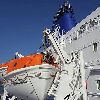 Huge #dfds Ferry ⛴ That Takes 500 by Dante Harker