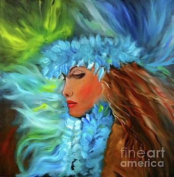 Hula Dancer 11 by Jenny Lee