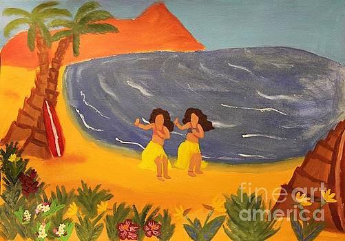 Hula Girls by Marina McLain