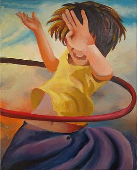 HulaHoop Girl by Geoff Greene