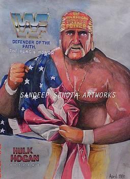 Hulk Hogan by Sandeep Kumar Sahota
