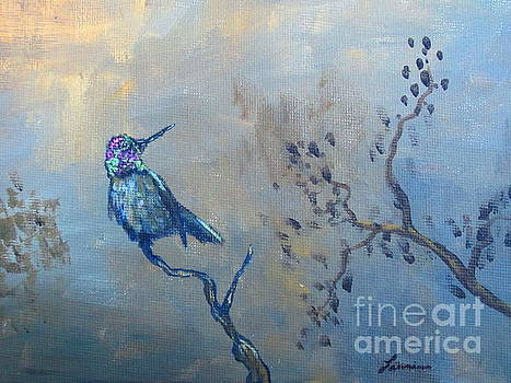 Humming Bird by Laurianna Taylor