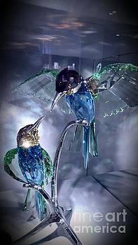 Humming Birds by Marlene Williams