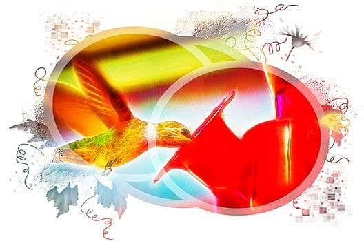 Cindy Nunn - Hummingbird Circled