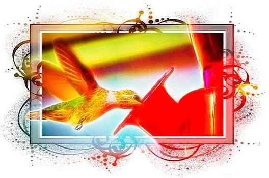 Cindy Nunn - Hummingbird Festive