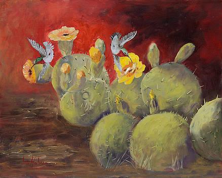 Hummingbirds Delight by Jan Holman