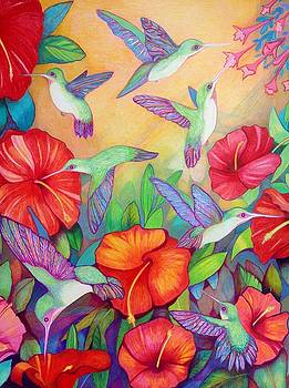 Hummingbirds by Rene LeGrue