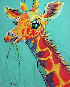 Hungry Giraffe by Susan DeLain