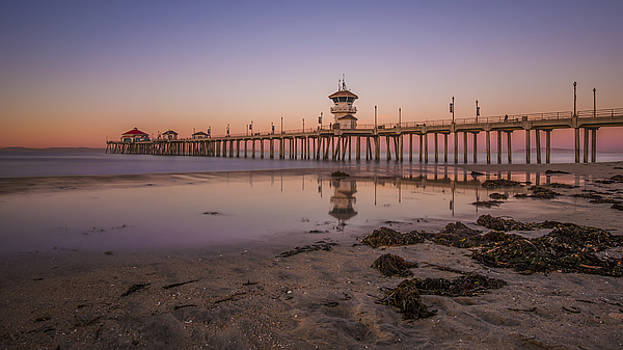 Huntington Beach Pier by Sean Foster