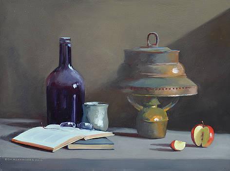Hurricane Lamp by Rich Alexander