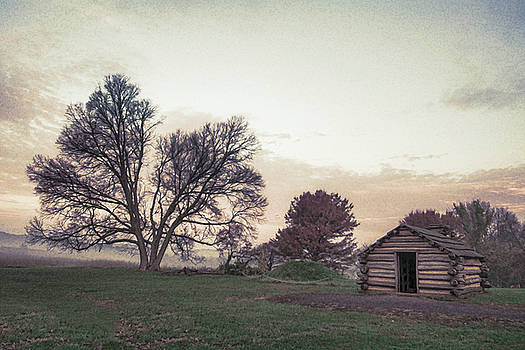 Hut at Dawn by Jeff Oates Photography